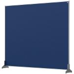 Nobo 1915506 magnetic board Blue
