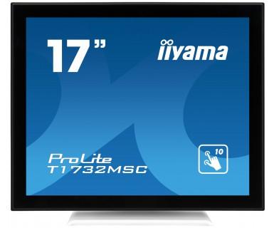 "iiyama ProLite T1732MSC-W1X 17"" 1280 x 1024pixels Multi-touch Black,White touch screen monitor"