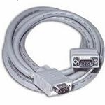 C2G 1m Monitor HD15 M/M cable 1m VGA (D-Sub) Grey SCSI cable