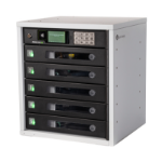 lockncharge FUYL Tower 5 Portable device management cabinet Black, Grey