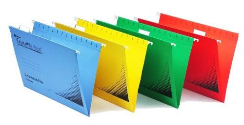 Rexel 3000043 folder Foolscap Yellow
