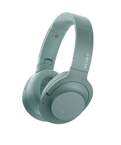 Sony h.ear on 2 Wireless NC Circumaural Head-band Green