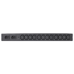 APC AP4421 12AC outlet(s) 1U Black power distribution unit (PDU)