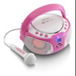 Lenco SCD-650 pink radio Portable