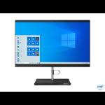 "Lenovo V50a 54.6 cm (21.5"") 1920 x 1080 pixels 10th gen Intel® Core™ i5 8 GB DDR4-SDRAM 256 GB SSD Windows 10 Pro Wi-Fi 5 (802.11ac) All-in-One PC Black, Silver"