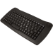 Accuratus KYBAC5010-USBBLK keyboard USB + PS/2 QWERTY English Black
