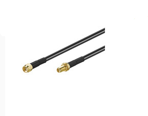 Microconnect 51677 coaxial cable 3 m Black