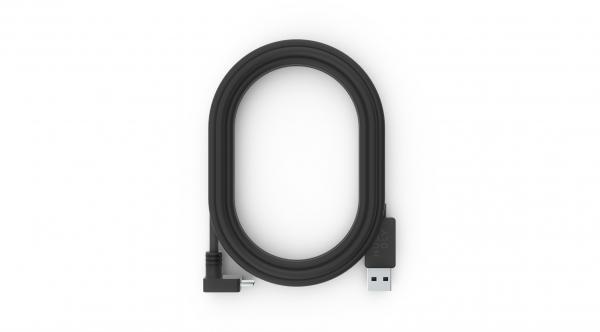Huddly 7090043790290 cable USB 0,6 m 3.2 Gen 1 (3.1 Gen 1) USB A USB C Negro