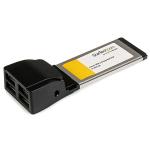StarTech.com 4 Port ExpressCard Laptop USB 2.0 Adapter Card