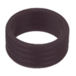 Kramer Electronics CON-RING-COMP/BLK cable boot Black 100 pc(s)