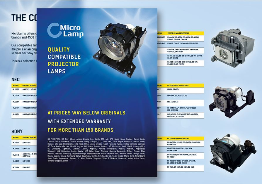 MicroLamp Product LeafLet MicroLamp