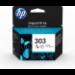 HP Cartucho de tinta Original 303 tricolor