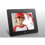 "Aluratek ADMSF108F digital photo frame 8"" Black"