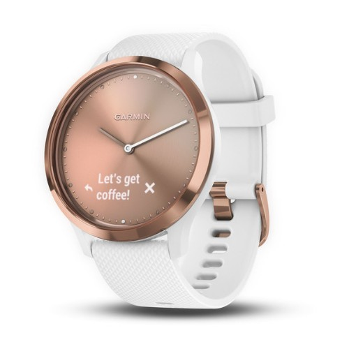 Garmin Vivomove HR, sport sport watch White Touchscreen 64 x 128 pixels Bluetooth