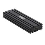 Tripp Lite USB-C to M.2 NVMe SSD (M-Key) Enclosure Adapter - USB 3.1 Gen 2 (10 Gbps), Thunderbolt 3, UASP