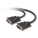 Belkin DVI-I - DVI-I 3m 3m DVI-I DVI-I Zwart DVI kabel