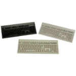 Keytronic KT800P210PK PS/2 QWERTY Black keyboard