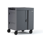 Bretford TVC16PAC-CK portable device management cart & cabinet Charcoal