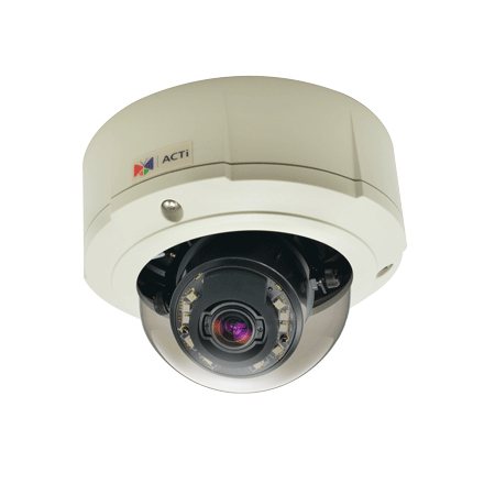 ACTi B81 IP security camera Outdoor Dome Black, White 2592 x 1944pixels