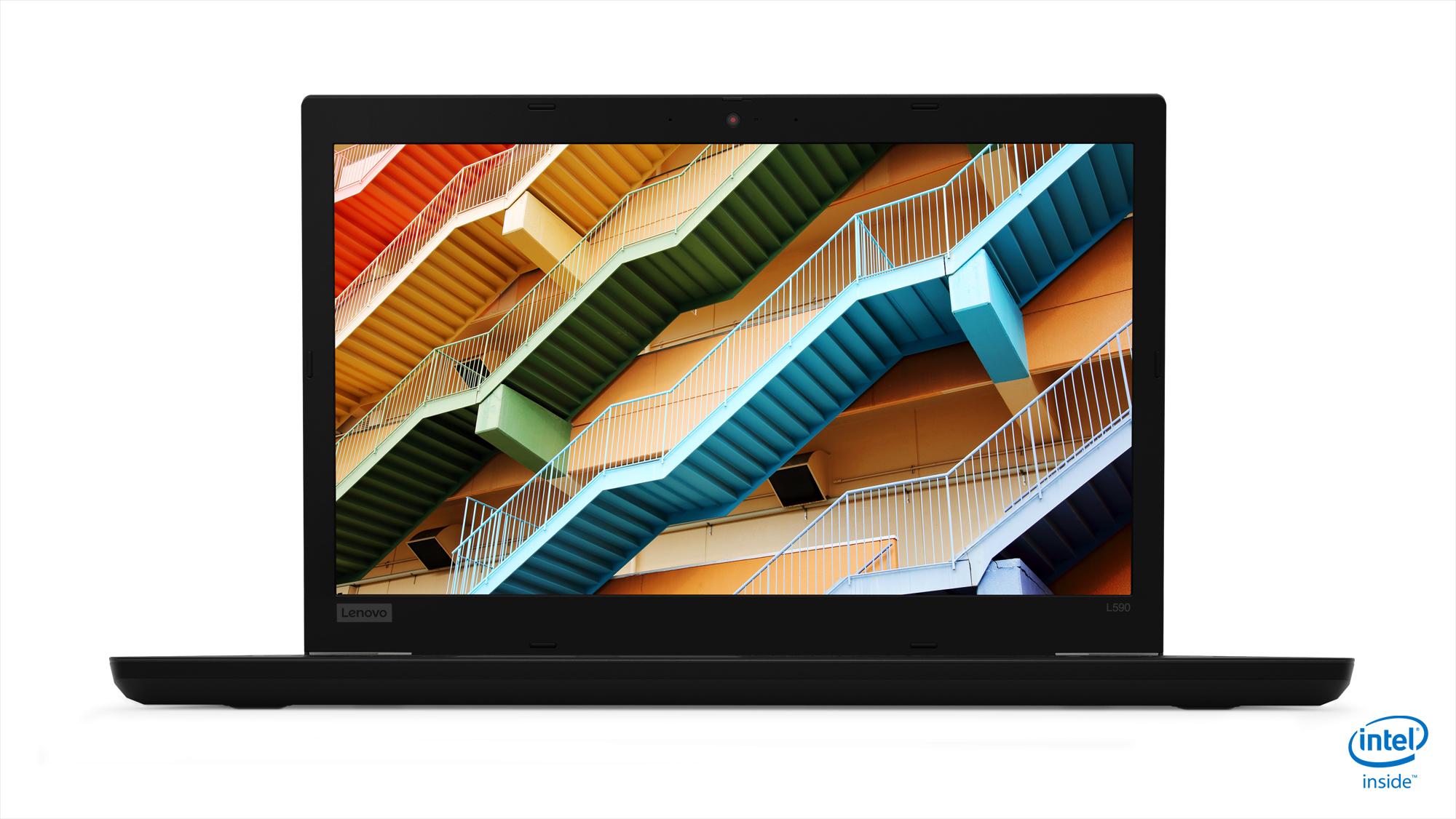 Lenovo ThinkPad L590 Black Notebook 39.6 cm (15.6