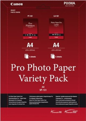 Canon Pro Variety Pack A4 photo paper A4 (210x297 mm)
