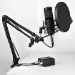 Mars Gaming MMICKIT micrófono Micrófono de estudio Negro