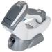 Datalogic PowerScan 9501 Retail Lector de códigos de barras portátil 1D/2D Laser Gris, Blanco