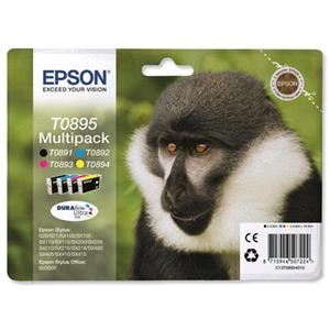 Epson Multipack 4-colours T0895 DURABrite Ultra Ink C13T08954010