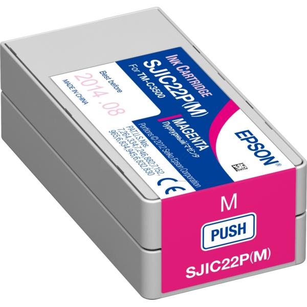 Epson C33S020603 (SJI-C-22-P-(M)) Ink cartridge magenta, 33ml