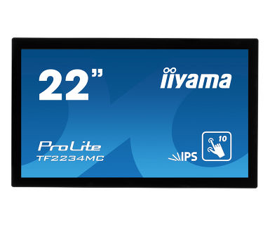 "iiyama ProLite TF2234MC touch screen monitor 54.6 cm (21.5"") 1920 x 1080 pixels Black Multi-touch Multi-user"