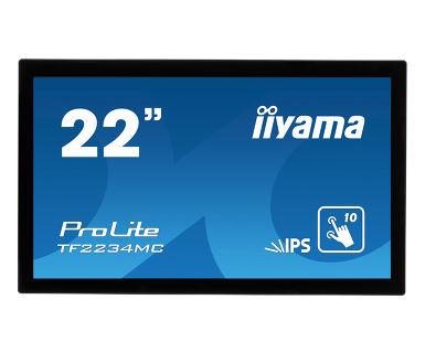 "iiyama ProLite TF2234MC touch screen monitor 54.6 cm (21.5"") 1920 x 1080 pixels Black Multi-touch Multi-user"