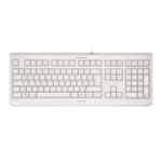 CHERRY KC 1068 Corded Sealed Keyboard, Pale Grey, USB (QWERTY - UK)