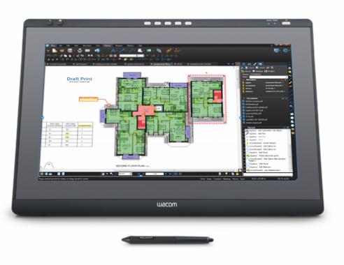 "Wacom DTK-2241 21.5"" 1920 x 1080pixels Table Black,Grey touch screen monitor"