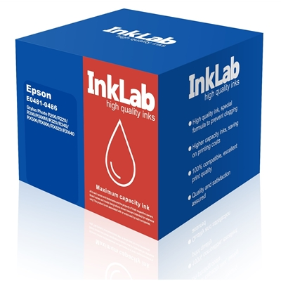 INKLAB 481-486 Epson Compatible Multipack Replacement Ink