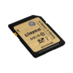 Kingston Technology SDHC/SDXC Class 10 UHS-I 64GB 64GB SDXC UHS Klasse 10 flashgeheugen
