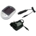 MicroBattery MBDAC1057 Auto/Indoor battery charger Black,Silver battery charger