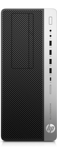 HP EliteDesk 800 G3 3.6GHz i7-7700 Tower Black,Silver PC