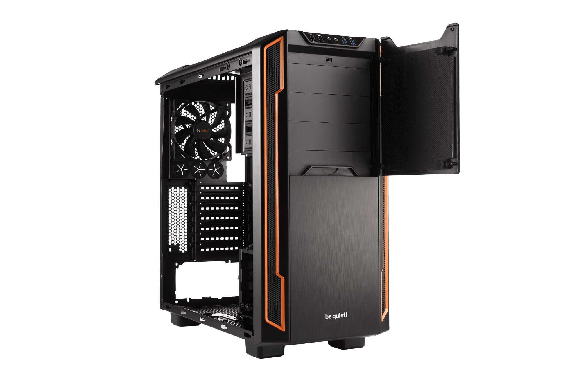 Pc Case - Silent Base 600 Orange