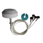 Ventev M6025040O3D402MWL network antenna Omni-directional antenna RP-TNC 4 dBi