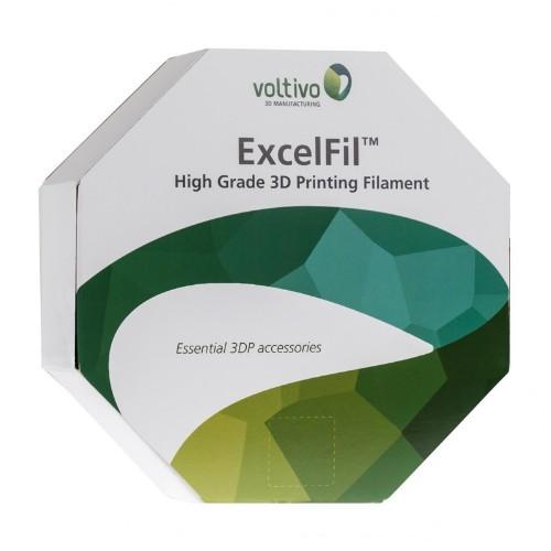 Voltivo ExcelFil Polylactic acid (PLA) Yellow 1 kg