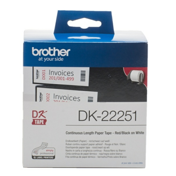 Brother DK-22251 P-Touch Etikettes, 62 mm x 15,24 m