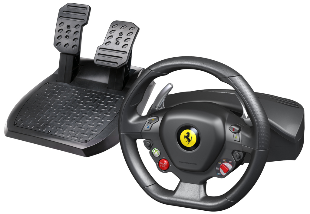Ferrari 458 Racing Wheel Rubber Texture Cladding Xbox 360