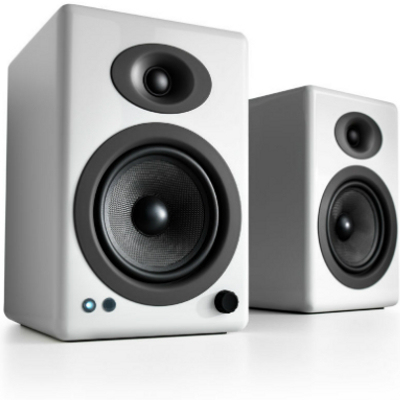 Audioengine A5+ 2-way 100 W White Wired & Wireless