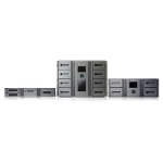 Hewlett Packard Enterprise StoreEver MSL2024 1 LTO-6 Ultrium 6250 FC Library with 24 LTO-6 Cartridges Bundle/TVlite tape auto loader/library