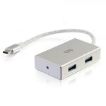 C2G 29827 interface hub USB 3.0 (3.1 Gen 1) Type-C 5000 Mbit/s Silver