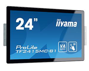 """iiyama ProLite TF2415MC-B1 23.8"""" 1920 x 1080pixels Multi-touch Black touch screen monitor"""