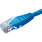 Cablenet 67 4010 1m Cat5e U/UTP (UTP) Blue networking cable