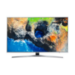 "Samsung MU6400 55"" 4K Ultra HD Smart TV Wi-Fi Black, Silver LED TV"