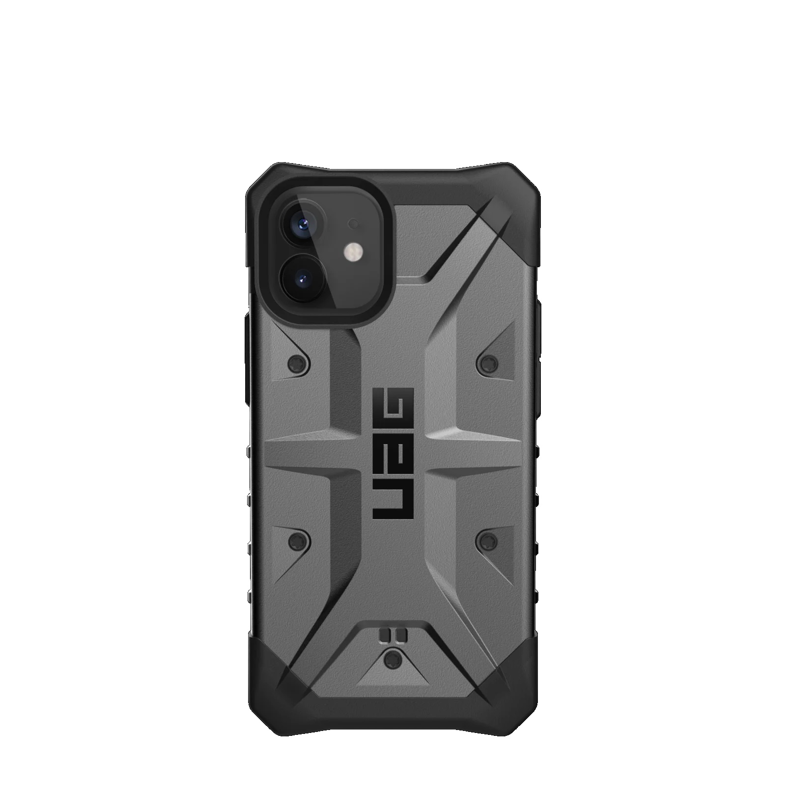 "Urban Armor Gear APPLE MILLENIUM 1 PATHFINDER ACCS funda para teléfono móvil 13,7 cm (5.4"") Negro, Plata"