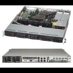 Supermicro CSE-113MFAC2-R606CB Rack 600W Black computer case